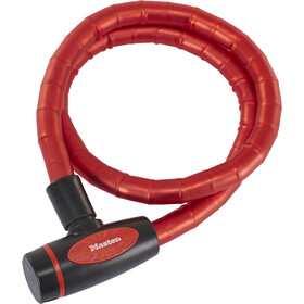 Masterlock 8228 PanzR Kabelschloss 18x1000mm rot/schwarz
